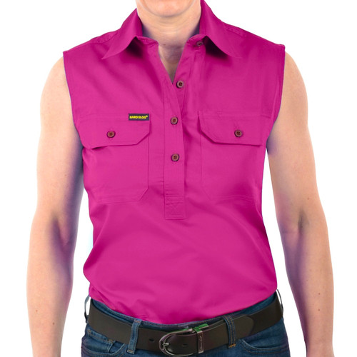 Hard Slog Womens Sleeveless Shirt