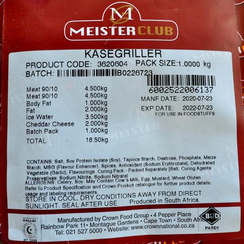 MEISTER CLUB KASEGRILLER