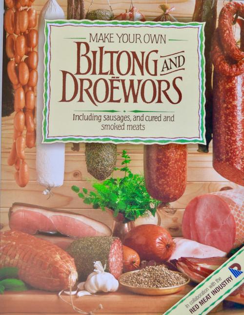 """BOOK: """"MAKE YOUR OWN BILTONG & DROEWORS""""."""