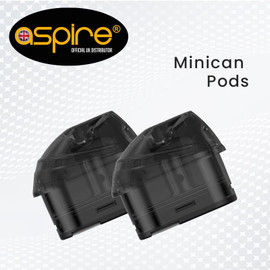 Aspire Minican -Replacement Pods - 2 Pack