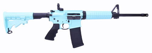 Ruger Ar-556 5.56mm Turquoise Blue