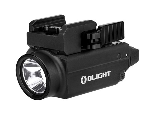 Olight Baldr S Rechargeable Weapon Light with Green Laser - 800 Lumens Black