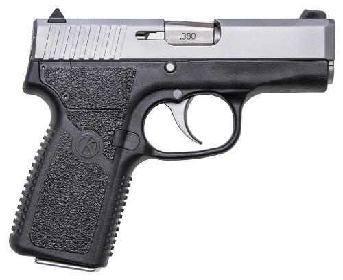 """Kahr Arms, CT380, Striker Fired, Compact, 380ACP, 3"""" Barrel, Polymer Frame, Matte Stainless Finish, Fixed Sights, 7Rd, 1 Magazine"""