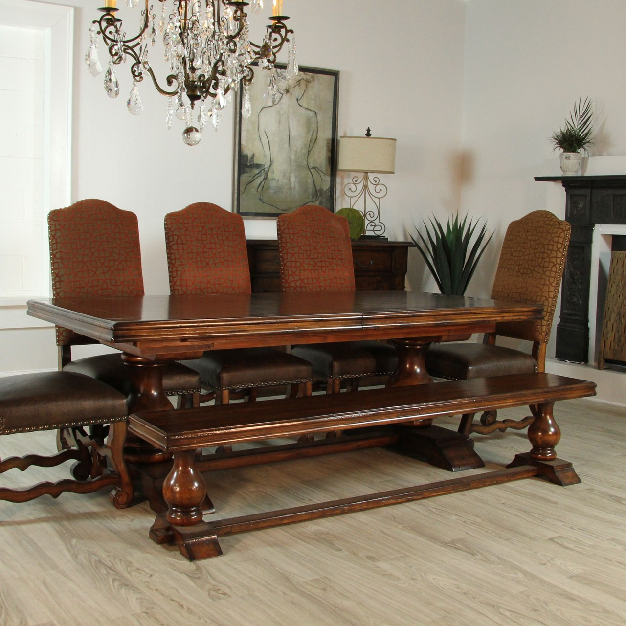Tuscan Extension Dining Table