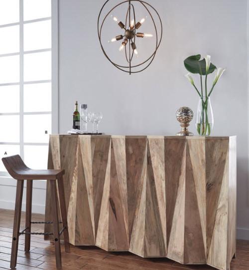 Natural Wood Bar