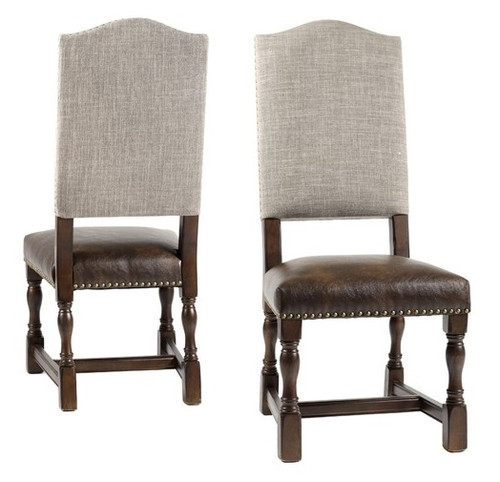 Jacqueline  Linen Side Chair