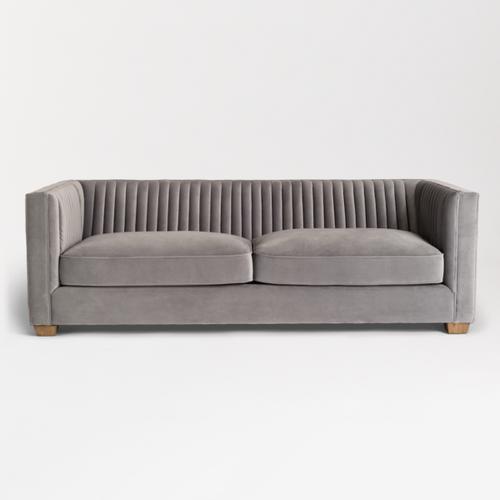 Tuxedo Sofa Gray