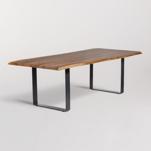 Live Edge Modern Dining Table