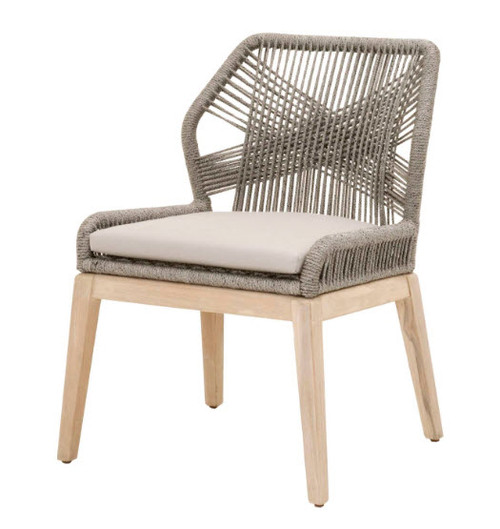 Nautical Rope Outdoor Side Chair