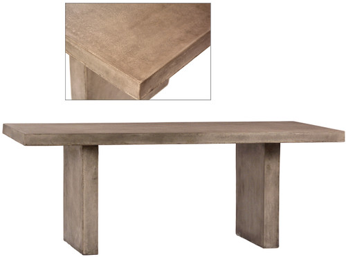 Santorini Outdoor Dining Table 79""