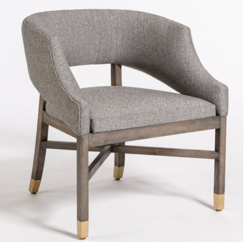Curved Back Modern Side Dining Chair