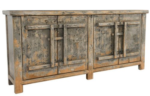 Reclaimed Wood 4 door sideboard