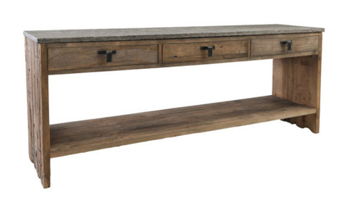 Rustic Modern Reclaimed Wood Console Sofa Table