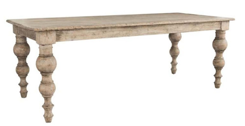 French Dining Table 83""
