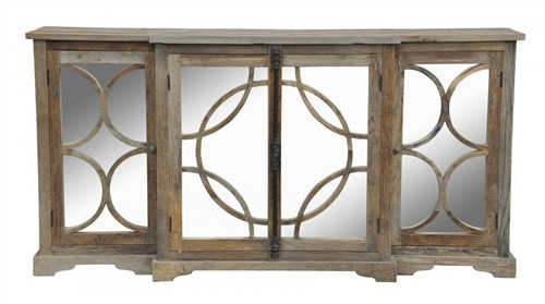 Wood & Mirror Sideboard