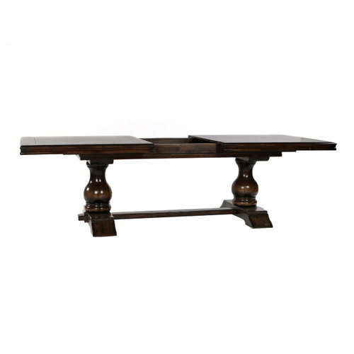 Tuscan Style Trestle Extension Dining  Table