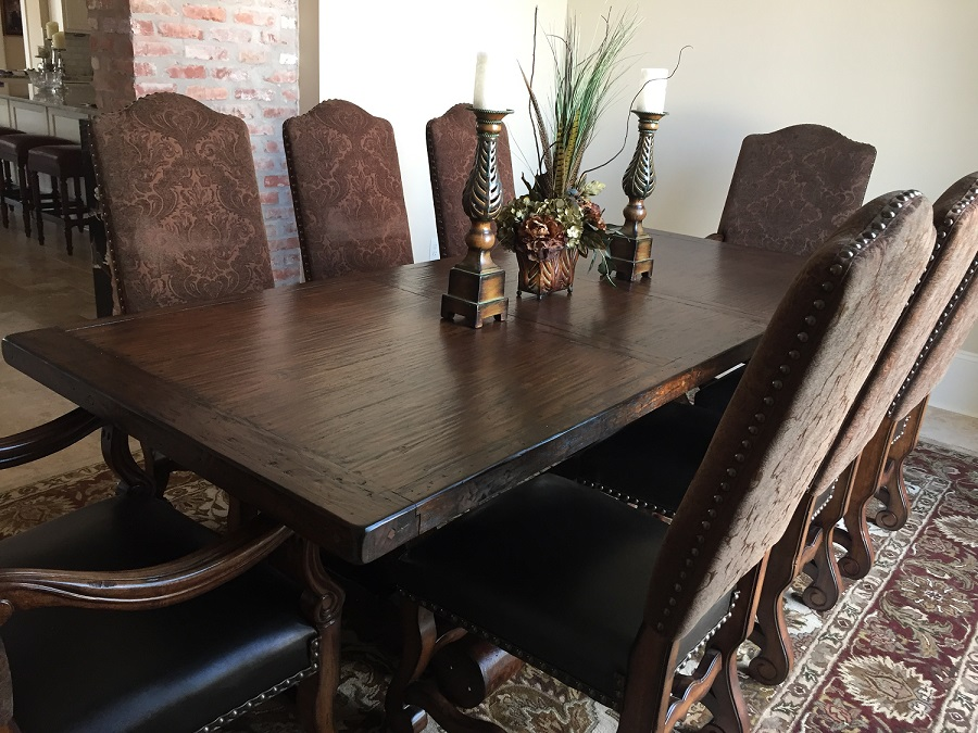 Spanish Colonial Extension Dining Table