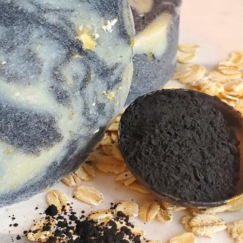 Natural Black & White Detox Soap