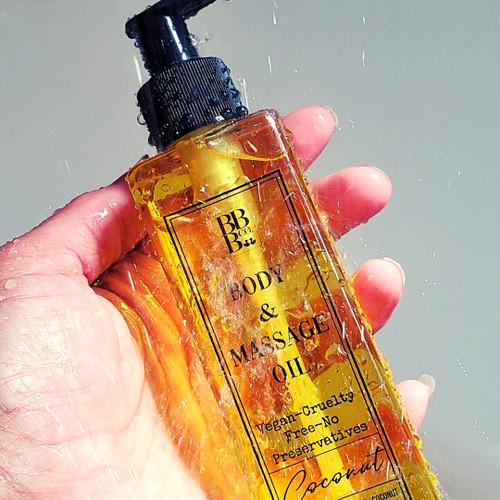Body & Massage Oil (please select fragrance in menu)