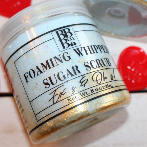 Ex's & Oh's Foaming Whipped Sugar Scrub