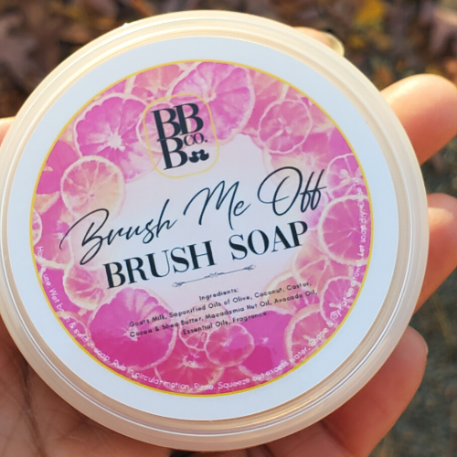 Limited! Grapefruit Brush Me Off Soap