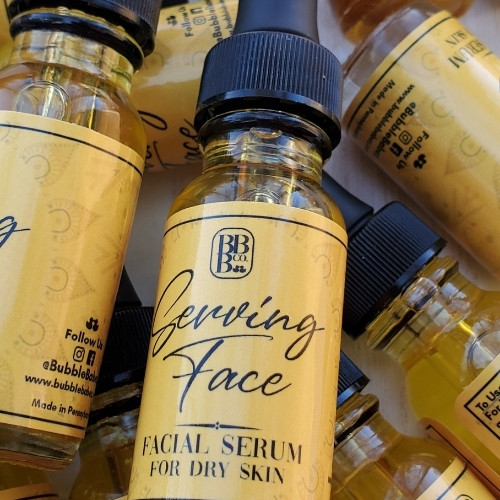 Serving Face! Dry Skin Serum