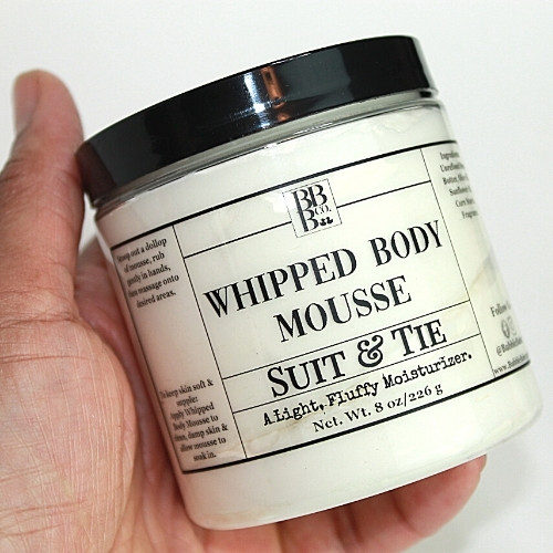 Whipped Body Mousse-Suit & Tie