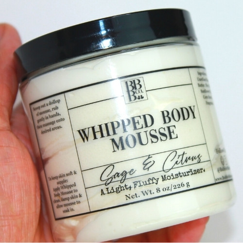 Whipped Body Mousse-Sage & Citrus