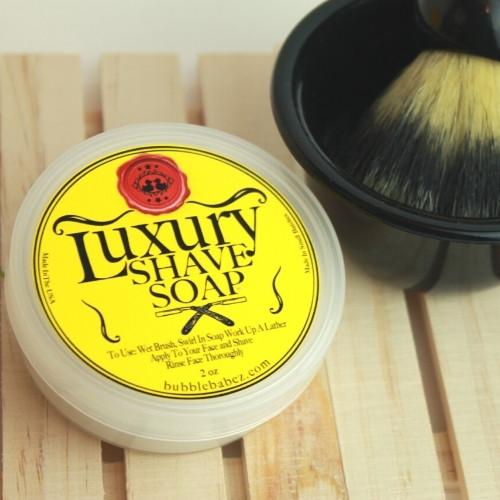 Luxury Shave Soap-Sage & Citrus