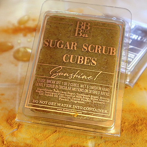 Sunshine! Sugar Scrub Cubes