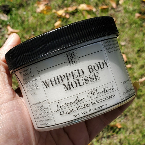 Lavender Martini Whipped Body Mousse