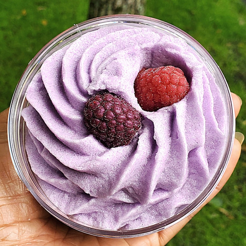 Whipped Shea Scrub-Frosted Berry Blast