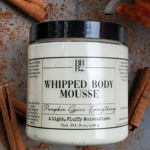 Whipped Body Mousse-Pumpkin Spice Everything