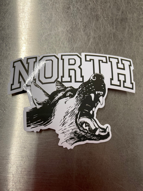 North Scooters Stickers