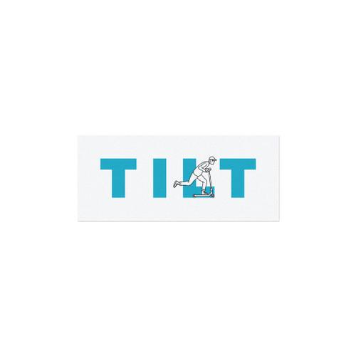 Tilt Push Logo Sticker