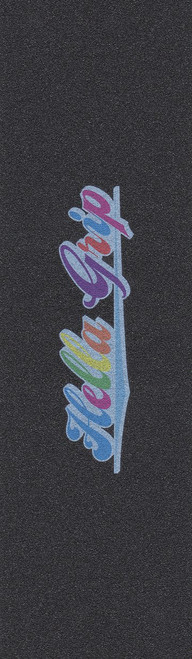 "Hella Classic: Rainbow (7""x24"") Black"