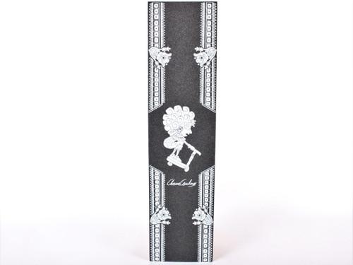 """PROTO – SD """"Relic"""" Chema Cardenas Signature GripTape (Black – 6″ x 24″)"""