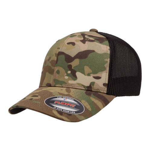 Flexfit Multicam Trucker Mesh Cap 6511Mc Multicam - One Dozen