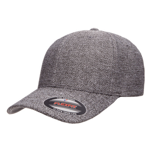 Flexfit Melange Cap 6355 Dark Heather Grey - One Dozen