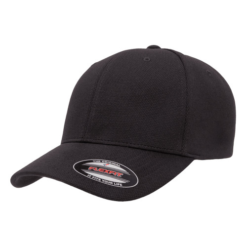 Flexfit Cool & Dry Performance Cap 6597 Black - One Dozen