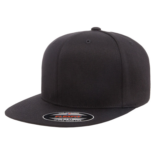 Flexfit Pro-Baseball On Field Cap 6297F Black - One Dozen