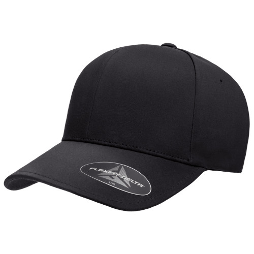 Flexfit Delta Cap 180 Black - One Dozen