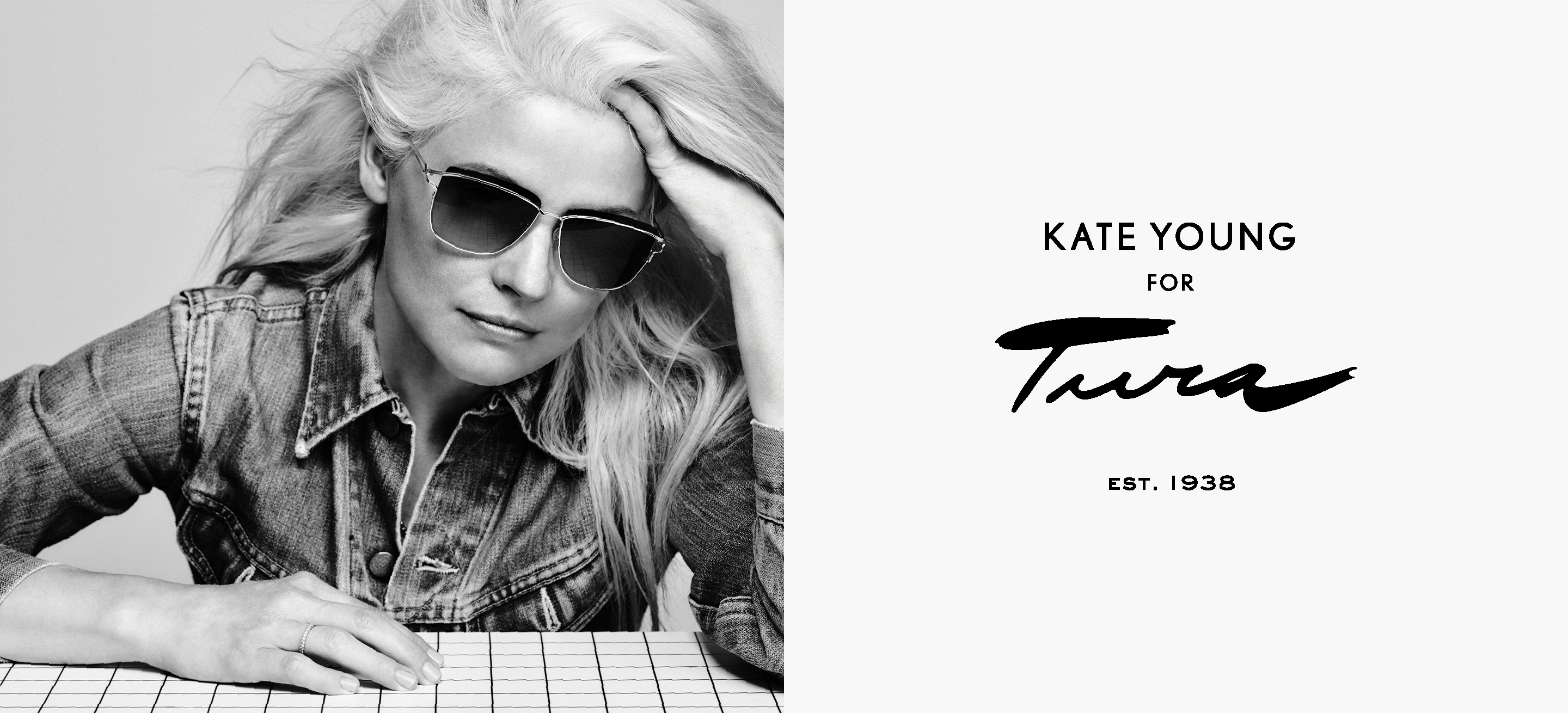 Kate Young for Tura Sunglasses