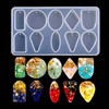 Pendant & Earring Silicone Mold 10 Patterns for Resin