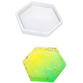 Hexagon Coaster Silicone Mold