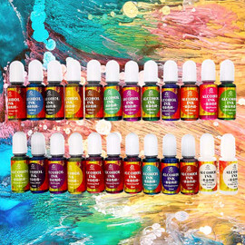 Alcohol Ink Liquid Pigment for Epoxy Resin