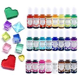 Transparent Gemstones Colors Pigment for Epoxy Resin