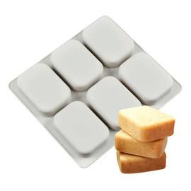 Rectangular Soap Making Mold 6 Cavities