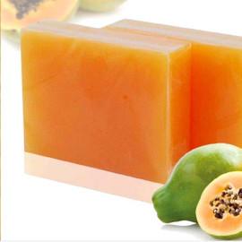 Natural Papaya Soap Base, Raw Soap