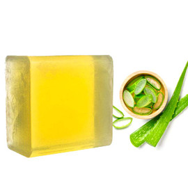 Natural Aloe Vera Gel Soap Base, Raw Soap